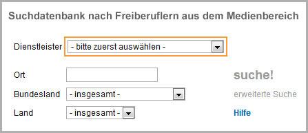 Freiberufler Portal